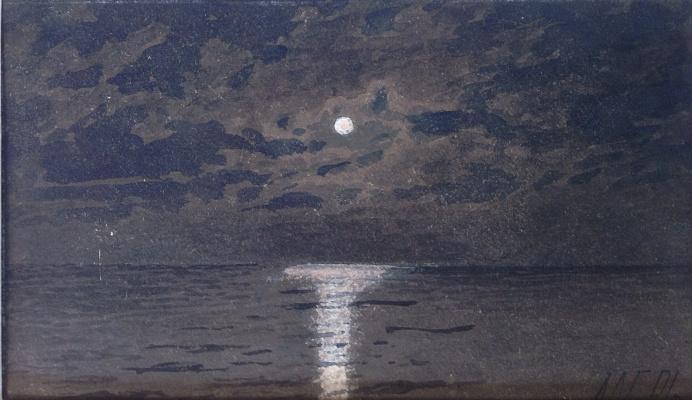 Lev Feliksovich Lagorio. Full moon