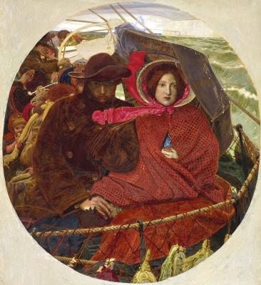 Ford Madox Brown. The last of England (second edition)