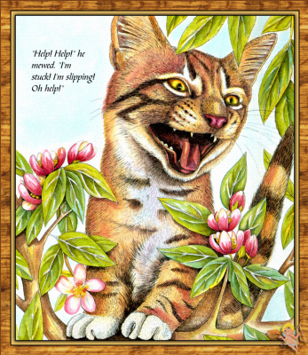 Тереза Обриен. Счастливый кот
