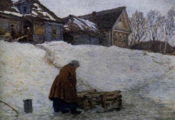 Николай Васильевич Мещерин. В гололедицу
