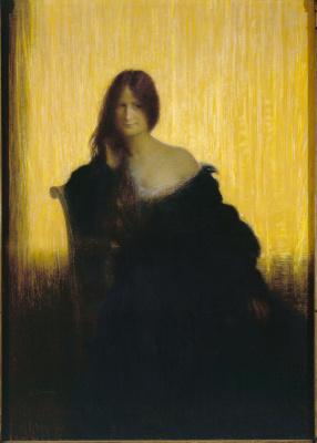 Шарль Леандр. Портрет женщины