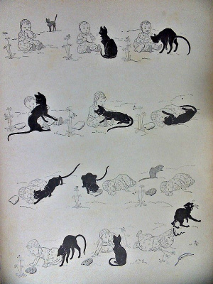 Теофиль-Александр Стейнлен. Кошки: картины без слов. Младенцы человека и кошачья боль