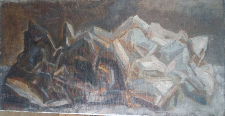 Igor Vasilyevich Ivanov. Crumpled paper