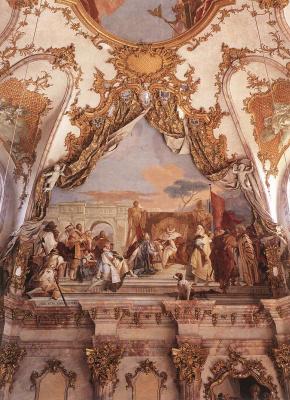 Giovanni Battista Tiepolo. Baroque style in architecture