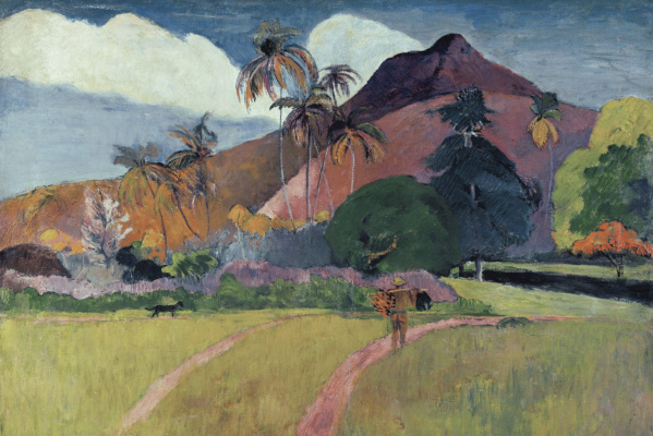 Paul Gauguin. Tahitian mountains