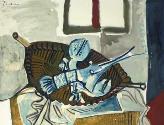 Pablo Picasso. Lobster in the basket