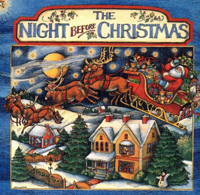 Susan Winget. The night before Christmas