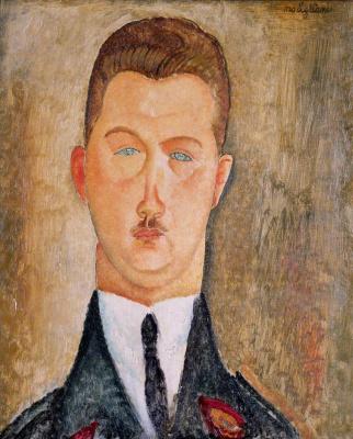 Amedeo Modigliani. Portrait of doctor Francois Brabander