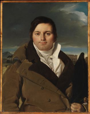 Jean Auguste Dominique Ingres. Portrait Of Joseph-Antoine, Moltedo