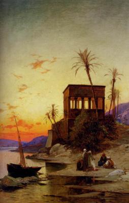 Herman David Solomon Korrodi. On the shore