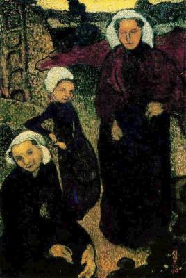 Maurice Denis. Breton women