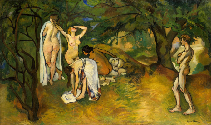 Suzanne Valadon. The joy of life