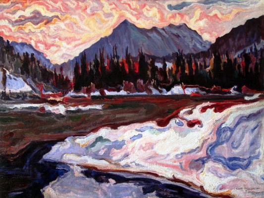 Алексей (Олекса) Новаковский. Landscape of Osmoloda
