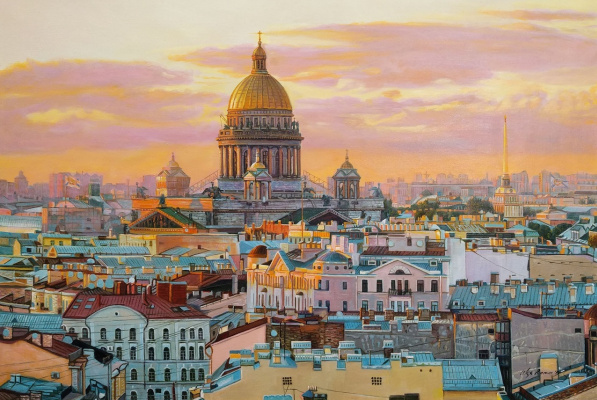 Alexander Romm. St. Petersburg. Rooftop walks