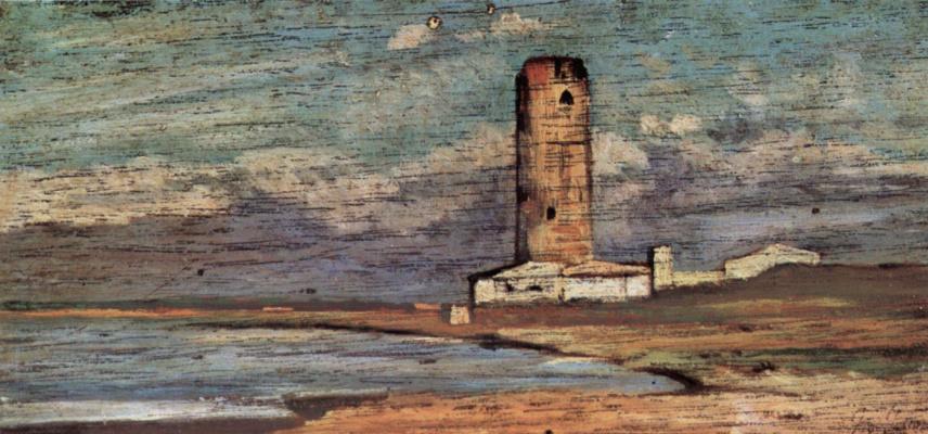 Giovanni Fattori. Tower Of Marzocco