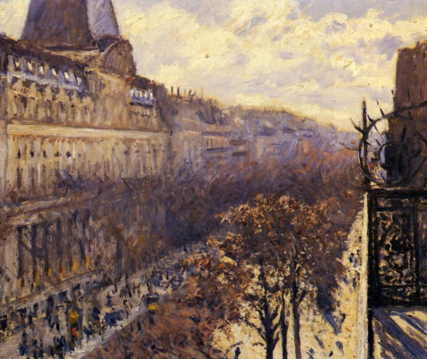 Gustave Caillebotte. Italian Boulevard
