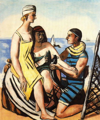 Max Beckmann. The sea