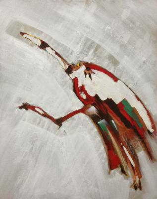 Pavel Kamyshnikau. Straw Heron