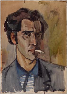 Виктор Георгиевич Ефименко. Автопортрет. 1963