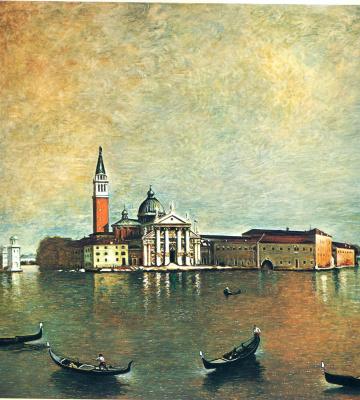 Giorgio de Chirico. Venice
