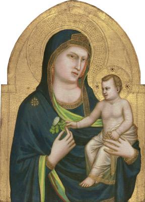 Джотто ди Бондоне. Мадонна с младенцем