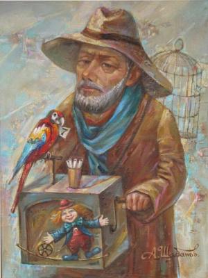 Александр Николаевич Шабанов. HAPPY TICKET ... HAPPY TICKETS Oil on canvas 40 * 30