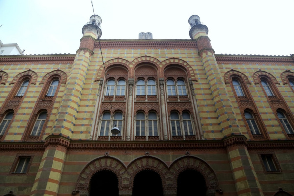 Otto Koloman Wagner. Synagogue on Rumbach Street, Budapest