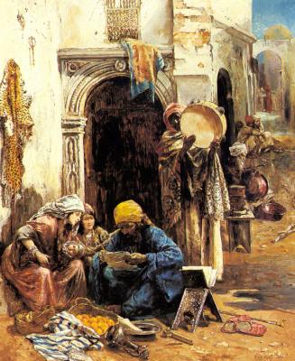Эжен Пави. На арабском базаре