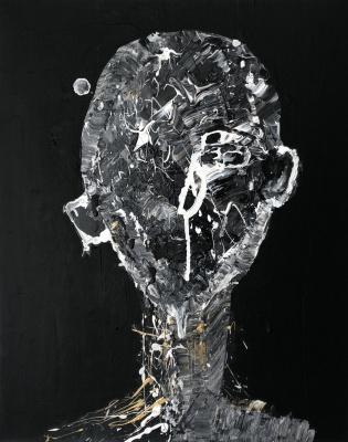 Анна Агеева. Mixed acrilic on canvas
