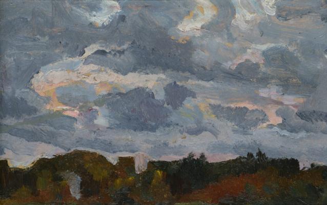 Рудольф Анатольевич Яблоков. Sky over the forest