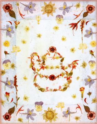 Шерил Уэлч. Цветочный мотив 8