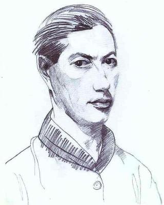 Натан Альтман. Мужской портрет