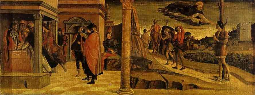 Джованни Беллини. Полиптих Сан Винченцо Феррери. Пределла. Панель III