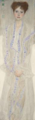 Gustav Klimt. Portrait Of Gertrude Leo