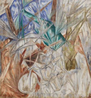 Mikhail Larionov. Glass