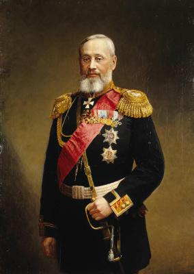 Александр Федорович Першаков. Портрет Петра Семеновича Ванновского