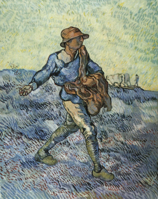 Vincent van Gogh. The sower