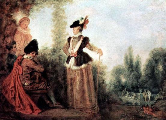 Antoine Watteau. Adventurer