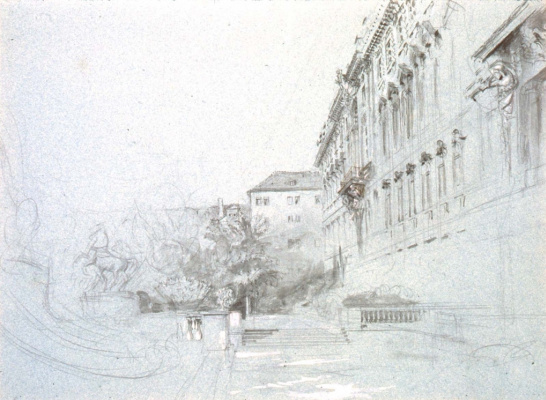 John Ruskin. Imperial Palace, Berlin