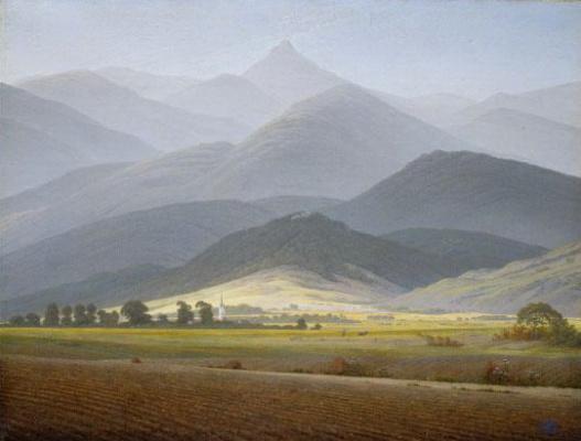 Каспар Давид Фридрих. Горный пейзаж