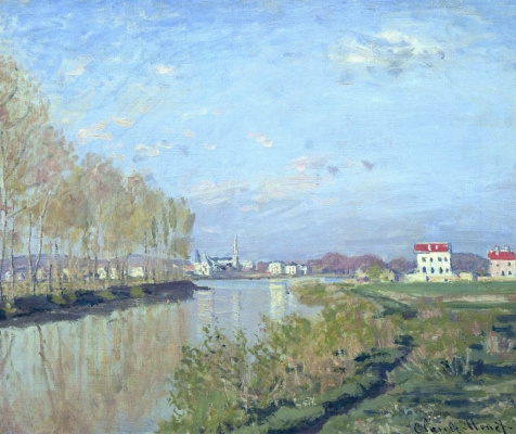 Claude Monet. The Seine at Argenteuil