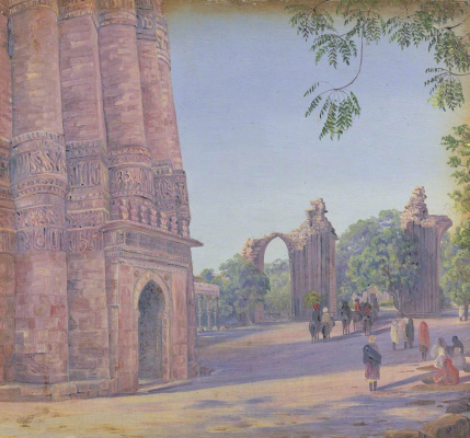 Marianna North. Qutub, Delhi, India