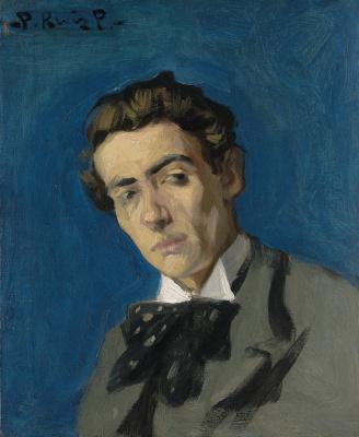 Пабло Пикассо. Портрет мужчины (Дионис Ренар)