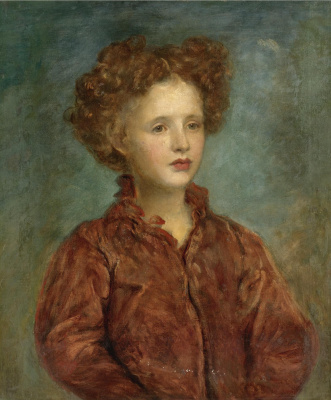 George Frederick Watts. Portrait of a girl
