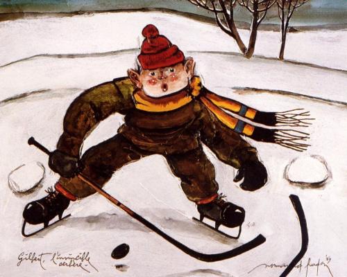 Норманд Худон. Хоккей