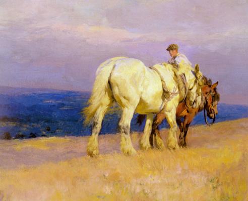 Люси Кемп Уэлч. Лошади