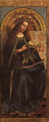 Хуберт ван Эйк. Мария