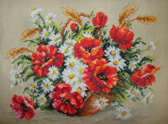 Sofya Sergeevna Vakhyanova. Poppies