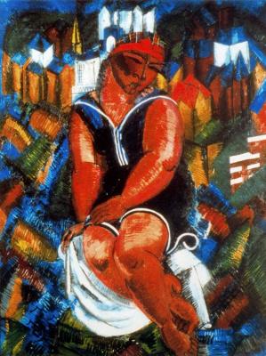 Raoul Dufy. Large bathers