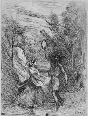 Camille Corot. Saltarella